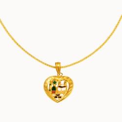 Золотое колье, арт. 020421.03.02