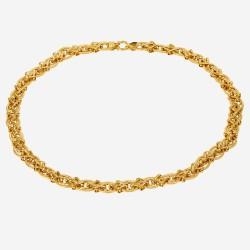 Золотое колье, арт. 030421.03.01