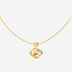 Золотое колье, арт. 030421.03.02