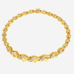 Золотое колье, арт. 030421.03.03