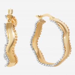 Золотые серьги, арт. 090621.04.13