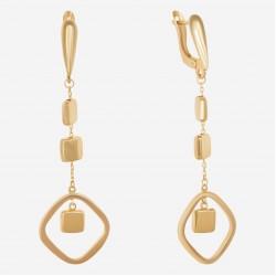 Золотые серьги, арт. 090621.04.21