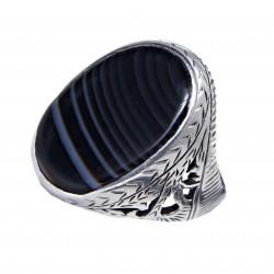 Мужское серебряное кольцо, арт. 111119.01.22