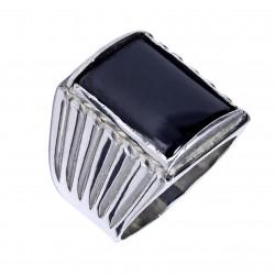 Мужское серебряное кольцо, арт. 111119.01.21