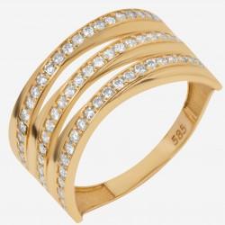 Золотое кольцо, арт. 120621.04.27