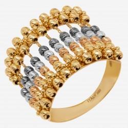 Золотое кольцо, арт. 120621.04.34