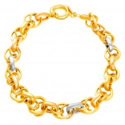 Золотой браслет 120821.05.07