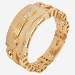 Мужское золотое кольцо, арт. 140621.04.10