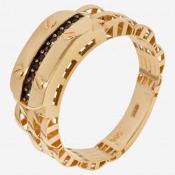 Мужское золотое кольцо, арт. 140621.04.11