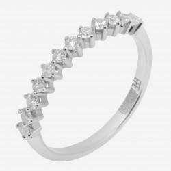 Золотое кольцо с бриллиантом, арт. 160421.04.10