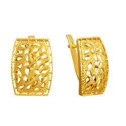 Золотые серьги 160821.06.04