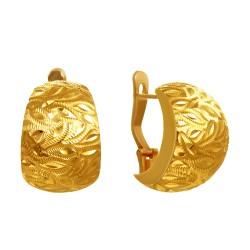 Золотые серьги 160821.06.05