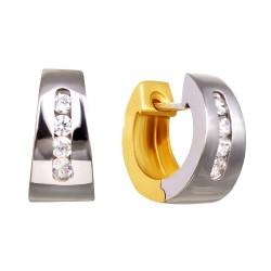 Золотые серьги 160821.06.15