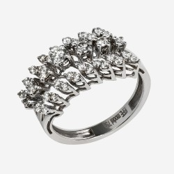 Золотое кольцо с бриллиантом, арт. 170421.04.24