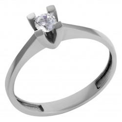 Золотое помолвочное кольцо, арт. 180821.07.12