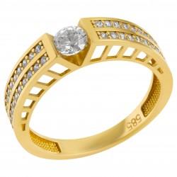 Золотое кольцо, арт. 180821.07.14