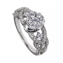 Серебряное кольцо, арт. 181119.02.07