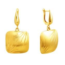 Золотые серьги, арт. 190821.07.20