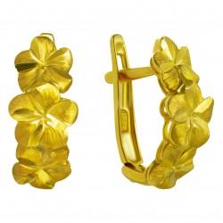 Золотые серьги, арт. 200821.07.10