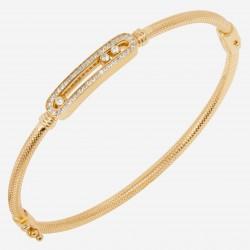 Золотой браслет с бриллиантом, арт. 220621.04.07
