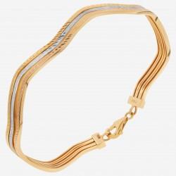 Золотой браслет, арт. 220621.04.08