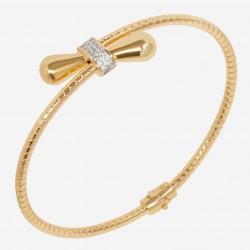 Золотой браслет с бриллиантом, арт. 220621.04.10