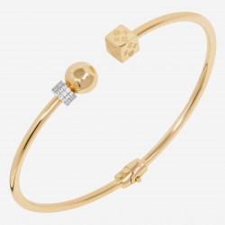 Золотой браслет с бриллиантом, арт. 220621.04.11