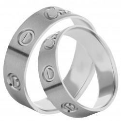 Золотое обручальное кольцо, арт. 230821.07.05