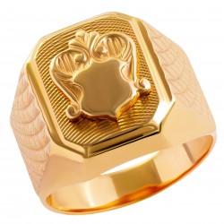 Мужское золотое кольцо, арт. 230821.07.21