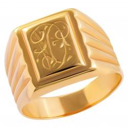 Мужское золотое кольцо, арт. 230821.07.23