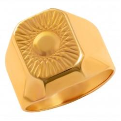Мужское золотое кольцо, арт. 230821.07.24