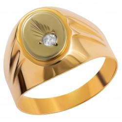 Мужское золотое кольцо, арт. 230821.07.30