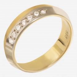 Золотое кольцо арт. 240321.03.05