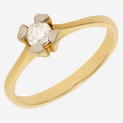 Золотое помолвочное кольцо арт. 240321.03.30