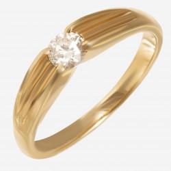 Золотое помолвочное кольцо арт. 250321.03.01