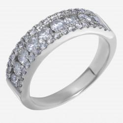 Золотое кольцо с бриллиантом арт. 250321.03.06