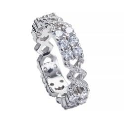 Серебряное кольцо, арт. 091219.02.19