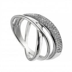 Серебряное кольцо, арт. 101219.02.25