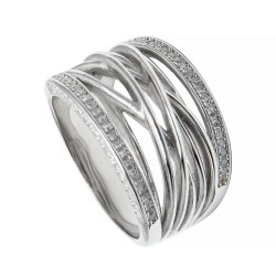 Серебряное кольцо, арт. 101219.02.27