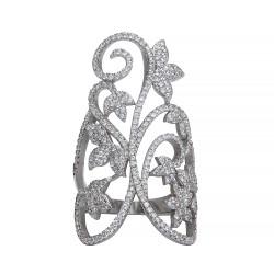 Серебряное кольцо, арт. 171219.02.102