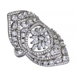 Серебряное кольцо, арт. 171219.02.11