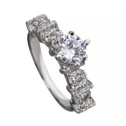 Серебряное кольцо, арт. 171219.02.12