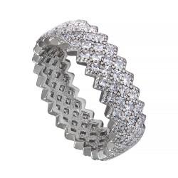 Серебряное кольцо, арт. 171219.02.116