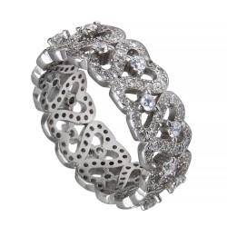 Серебряное кольцо, арт. 171219.02.118