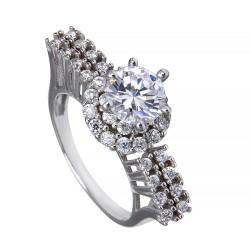 Серебряное кольцо, арт. 171219.02.20