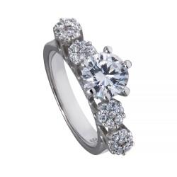 Серебряное кольцо, арт. 171219.02.24