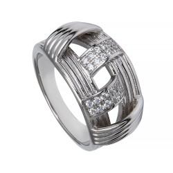 Серебряное кольцо, арт. 171219.02.92